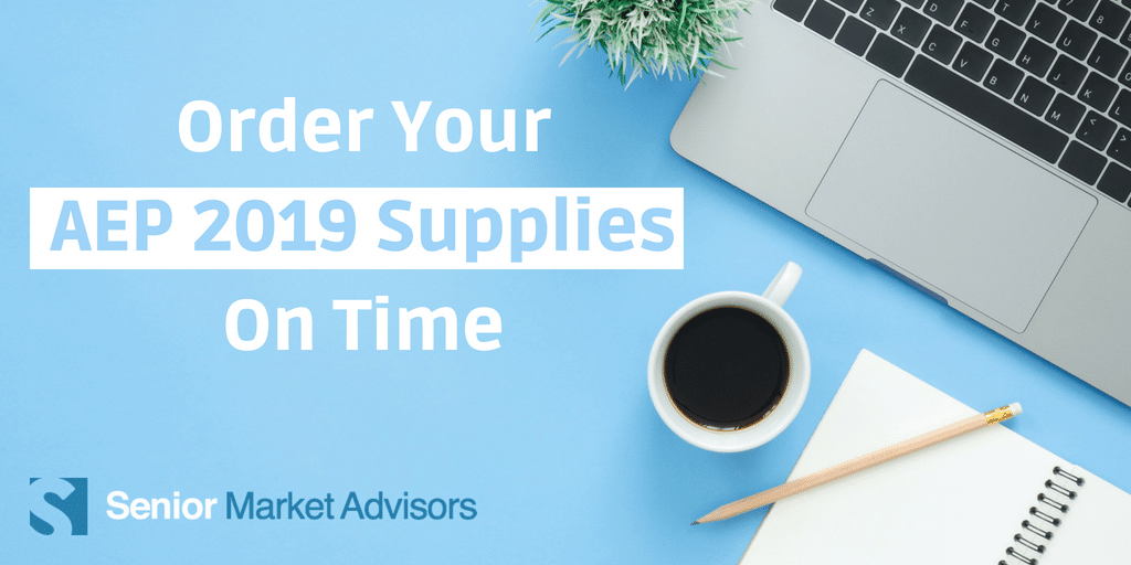 Learn tips and tricks so you can order your AEP 2019 supplies on time!